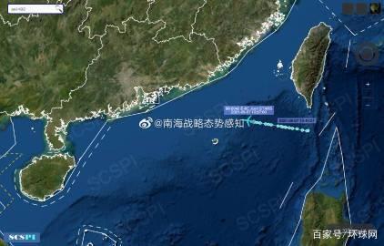 南海战略态势感知:美军航母进入南海,年内第六次